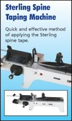 Sterling Spine Taping Machine